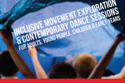 Drop-in Weekly Inclusive Contemporary & Creative Movement Sessions 2017